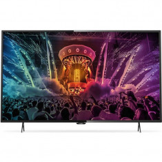 Televizor Philips LED Smart TV 55 PUH6101 139 cm Ultra HD 4K Black - Televizor LED