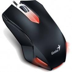 Mouse Genius X-G200 USB Black, Optica