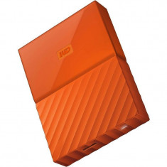 Hard disk extern WD My Passport New 2TB 2.5 inch USB 3.0 Orange - HDD extern Western Digital