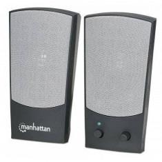 Sistem audio 2.0 Manhattan 4W Black