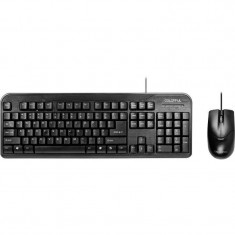 Kit tastatura si mouse Segotep + mouse Colorful C-K105 Combo Black
