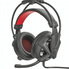 Casti Trust GXT 353 Vibration Black pentru PS4 - Casca PC