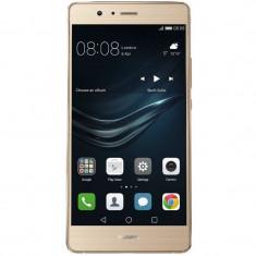 Smartphone Huawei P9 Lite 16GB 2GB RAM Dual Sim Gold - Telefon Huawei, Auriu, Neblocat, Octa core