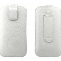 Toc OEM TSAPPIPH5ALB Slim alb pentru Apple iPhone 5 / 5S / 5C - Husa Telefon Oem, iPhone 5C, Vinyl