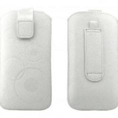 Toc OEM TSAPPIPH5ALB Slim alb pentru Apple iPhone 5 / 5S / 5C - Husa Telefon