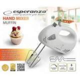 Mixer de mana Esperanza EKM007E Muffin 125W Alb, 100 W