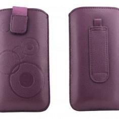 Toc OEM TSSAMGS2VIO Slim violet pentru Samsung Galaxy S2 / S / S Plus - Husa Telefon