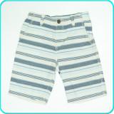 Pantaloni scurti din bumbac, talia reglabila, H&M → baieti | 6 - 7 ani | 122 cm