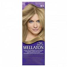 Vopsea de par WELLATON 81 Blond cenusiu deschis, Permanenta