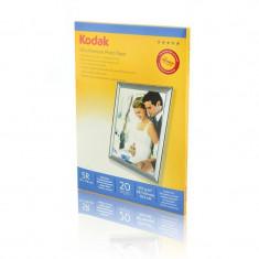 Hartie foto Kodak 20 coli 5R Ultra Premium Glossy 13x18