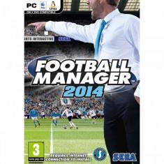 Joc PC Sega Football Manager 2014 - Jocuri PC