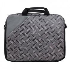Geanta laptop SBox NCS-031 Paris 15.6 inch argintie, Nailon, Gri