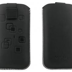 Toc OEM TSAPPIPH5NEG Slim negru pentru Apple iPhone 5 / 5S / 5C - Husa Telefon