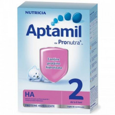 Lapte praf APTAMIL Nutricia HA2 de la 6 luni 600 g - Lapte praf bebelusi