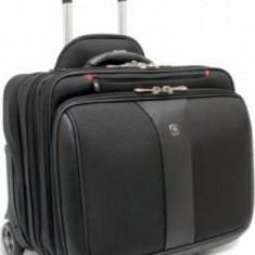Troller laptop Wenger Potomac 15.4 inch Black - Geanta laptop
