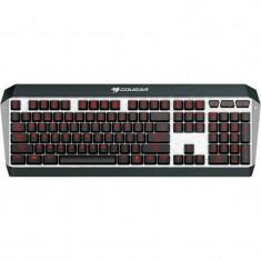 Tastatura gaming Cougar Attack X3 Cherry Mx Blue USB Black, Cu fir