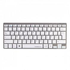 Tastatura Wireless Hama Rossano 2.4G Silver / White