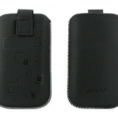 Toc OEM TSSAMGS5NEG Slim negru pentru Samsung Galaxy S5 G900 - Husa Telefon Oem, Vinyl