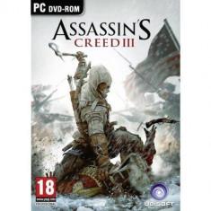 Joc PC Ubisoft PC Assassins Creed 3 - Jocuri PC Ubisoft, Actiune, 18+, Single player