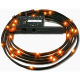 Kit Iluminare carcasa NZXT Sleeved LED Kit 1m Orange
