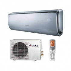 Aparat aer conditionat Gree U-Crown GWH09UB-K3DNA4F Inverter 9000BTU A++/A++ Argintiu, A++, Standard