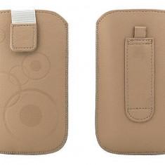 Toc OEM TSAPPIPH4CAP Slim cappucino pentru iPhone 4 / Samsung Ace / Nokia E5 - Husa Telefon