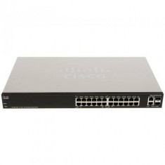 Switch Cisco SLM224PT 24 porturi