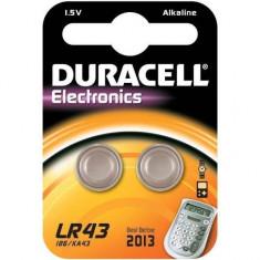 Baterie alcalina Duracell 2*LR43 1.5V - Baterie Aparat foto