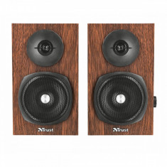 Sistem audio 2.0 Trust Vigor Timber - Boxe PC