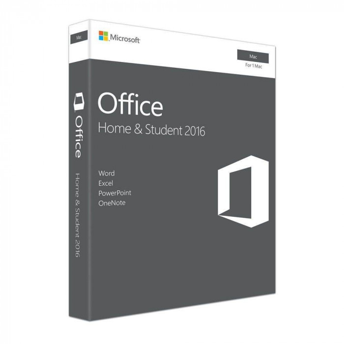Microsoft Office Home and Student 2016 Engleza pentru Apple Mac