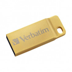 Memorie USB Verbatim Metal Executive 64GB USB 3.0 Gold, 64 GB