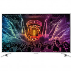 Televizor Philips LED Smart TV 49PUS6561/12 Ultra HD 4K 124cm Ambilight Silver - Televizor LED