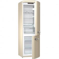Combina frigorifica Gorenje ONRK193C Retro Collection A+++ 307l crem, A++