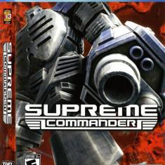 Joc PC THQ Supreme Commander - Jocuri PC Thq, Strategie, 12+, Multiplayer