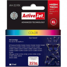 Consumabil ActiveJet Cartus compatibil HP-351xl pentru HP CB338EE color - Cartus imprimanta