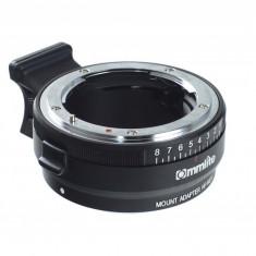 Commlite CM-NF-NEX adaptor montura Nikon G F Ai S D - Sony NEX - Inel adaptor obiectiv foto