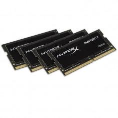 Memorie laptop HyperX Impact Black 32GB DDR4 2133 MHz CL14 Quad Channel - Memorie RAM laptop Kingston