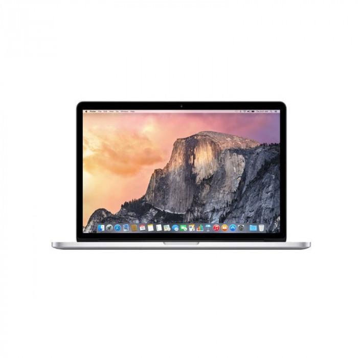 Laptop Apple MacBook Pro 15 15.4 inch Quad HD Retina Intel Broadwell i7 2.2 GHz 16GB DDR3 256GB SSD Intel Iris Mac OS X Yosemite INT Keyboard foto mare
