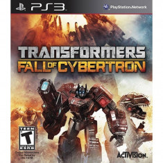 Joc consola Activision Transformers Fall of Cybertron PS3 - Jocuri PS3 Activision, Actiune, 12+
