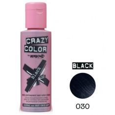 Vopsea par semi-permanenta Profesionala CRAZY COLORS 002273-1 Negru Intens