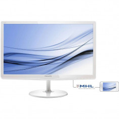 Monitor LED Philips 247E6EDAW/00 23.6 inch 5ms White, 23 inch