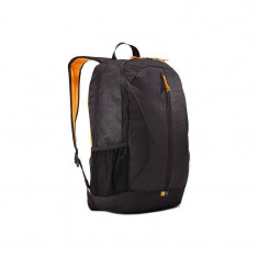 Geanta laptop Case Logic IBIR115K 15.6 inch black, Nailon, Negru