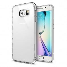 Husa Protectie Spate Ringke Fusion Crystal View plus folie protectie fata si spate pentru Samsung Galaxy S6 Edge - Husa Telefon