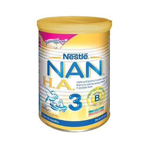 Lapte praf NESTLE Nan HA3 400g peste 12 luni foto mare
