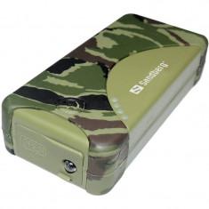Acumulator extern Sandberg Outdoor Powerbank 5200 mAh Green - Baterie externa