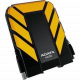 Hard disk extern ADATA HD710 1TB galben - HDD extern A-data, 1-1.9 TB