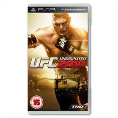 Joc consola THQ PSP UFC Undisputed 2010 - Jocuri PSP Thq, Sporturi