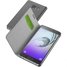 Husa Flip Cover Cellularline BOOKESSGALA516K Agenda Essential Negru pentru Samsung Galaxy A5 2016 - Husa Telefon