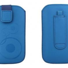 Toc OEM TSAPPIPH4ABS Slim albastru pentru iPhone 4 / Samsung Ace / Nokia E5 - Husa Telefon