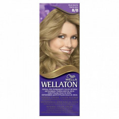 Vopsea par WELLATON 80 Blond deschis - Vopsea de par, Permanenta